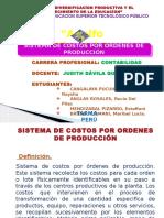 Sistema de Costo Por Ordenes de Produccion
