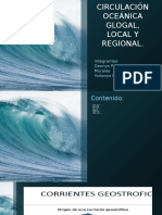 Circulacion OCEANICA en Colombia.