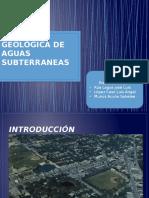 Acción Geológica de Aguas Subterraneas