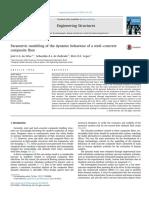 JGS Da Silva_SAL de Andrade_Parametric Modeling of the Dinamic Behaviour of a Steel-concrete Composite Floor_ES 2014