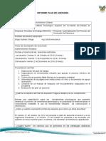 Fo-023 Formato Informe Plan de Asesoria