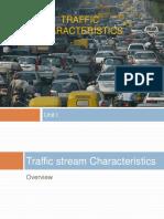 C 7-Traffic Characteristics