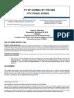 Special Meeting Agenda 11-09-16 Council Training
