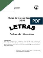 Cuadernillo Ingreso Letras 2016 (1)