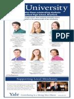 Branford High School Senior Spotlight