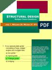 Structural Design sample exams-95-96-97-98.ppt