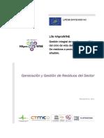 Generacion y Gestion de Residuos Del Sector