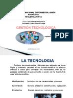LA TECNOLOGÍA Y GESTIÓN TECNOLÓGICA, CANALES DE TRANSFERENCIA DE TECNOLOGÍA EN LA ADMINISTRACIÓN