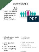 Epidemiologia Influenza