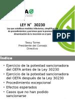Presentación de Tessy Torres Sánchez, presidenta de OEFA
