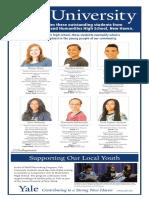 Cooperative Arts & Humanities High School Senior Spotlight