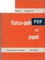 Fisico - Quimica Del Papel - Gerard Martin