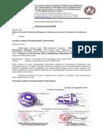 Surat Delegasi Peserta Bampi