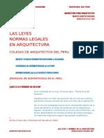 Legislacion y Normatividad Legal en Arquitectura (1)