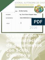 Organizacion y Administracion de Documentos TIC