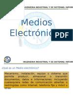1. Medios Electronicos