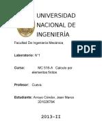 Lab1 Elementos Finitos111