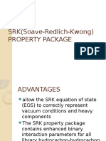 Srk(Soave Redlich Kwong) Property Package