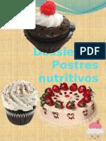 Dossier de Postres Nutritivos
