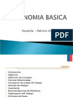Ergonomia Básica Clase 30-08-16
