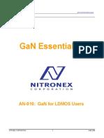 Nitronex AN-010 Gan Essentials for LDMOS users