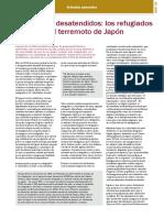 Refugiados en el Terremoto de Japón.pdf