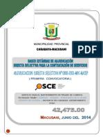 Ads Mantenimiento Rutinario Ayapata - Camatani - Pumachaca 1ra Convocatoria