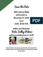 ges literacy night