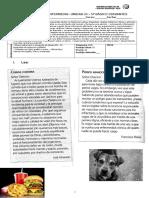 Evaluación Intermedia Argumentativo QUINTO (1)