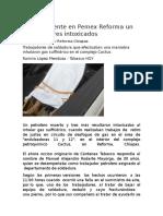 Deja Accidente en Pemex Reforma Un Muerto y Tres Intoxicados