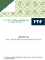 Norma Mexicana Para La Certificación Del Manejo s.