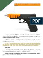 Identificação de Armas de Fogo - Transformando Letal Em Não Letal