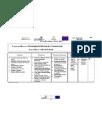 planificacao modular Excel