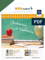 wissenswert 09 - Magazin der Leopold-Franzens-Universität Innsbruck