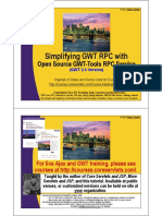 GWT RPCService Intro