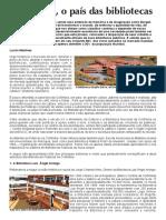 Colômbia, o Pais Das Bibliotecas - Artigo