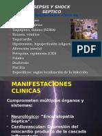 Shock Septico Cuadro Clinico y Diagnosrico