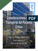 17 Adasme Consideraciones en El Transporte Del Paciente Critico