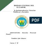 Cadena de Custodia Penal