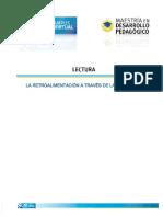La retroalimentación en pirámide .pdf