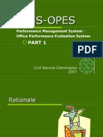 PMS OPES Orientation_part 1 Revised