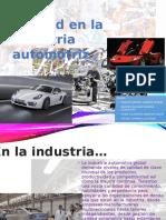 Calidad en La Industria Automotriz