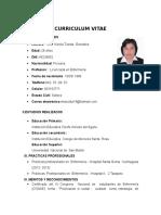 Curriculum Vitae -Documentos