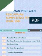 Pedoman Penilaian dan Model Rapor SMK.pptx