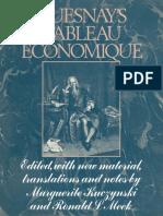 Kuczynski, Meek - Quesnay's Tableau Économique