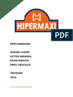 Merchandising Hipermaxi
