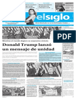 Edición Impresa Elsiglo 10-11-2016