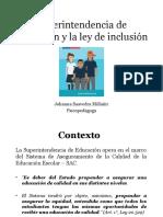 Ley de inclusion educativa- Superintendencia de educación 2.pptx
