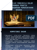 Bab 1 Nilai-nilai Pancasila Dalam Kerangka Praktik Penyelenggaraan Pemerintahan Negara