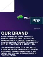HandelGothic -  Rally brand guidelines